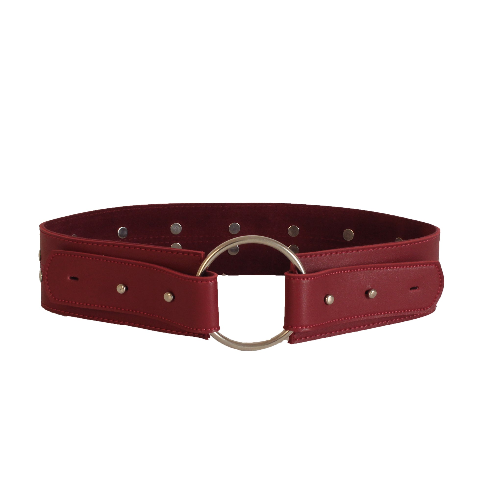 Gladiator Belt Burgundy