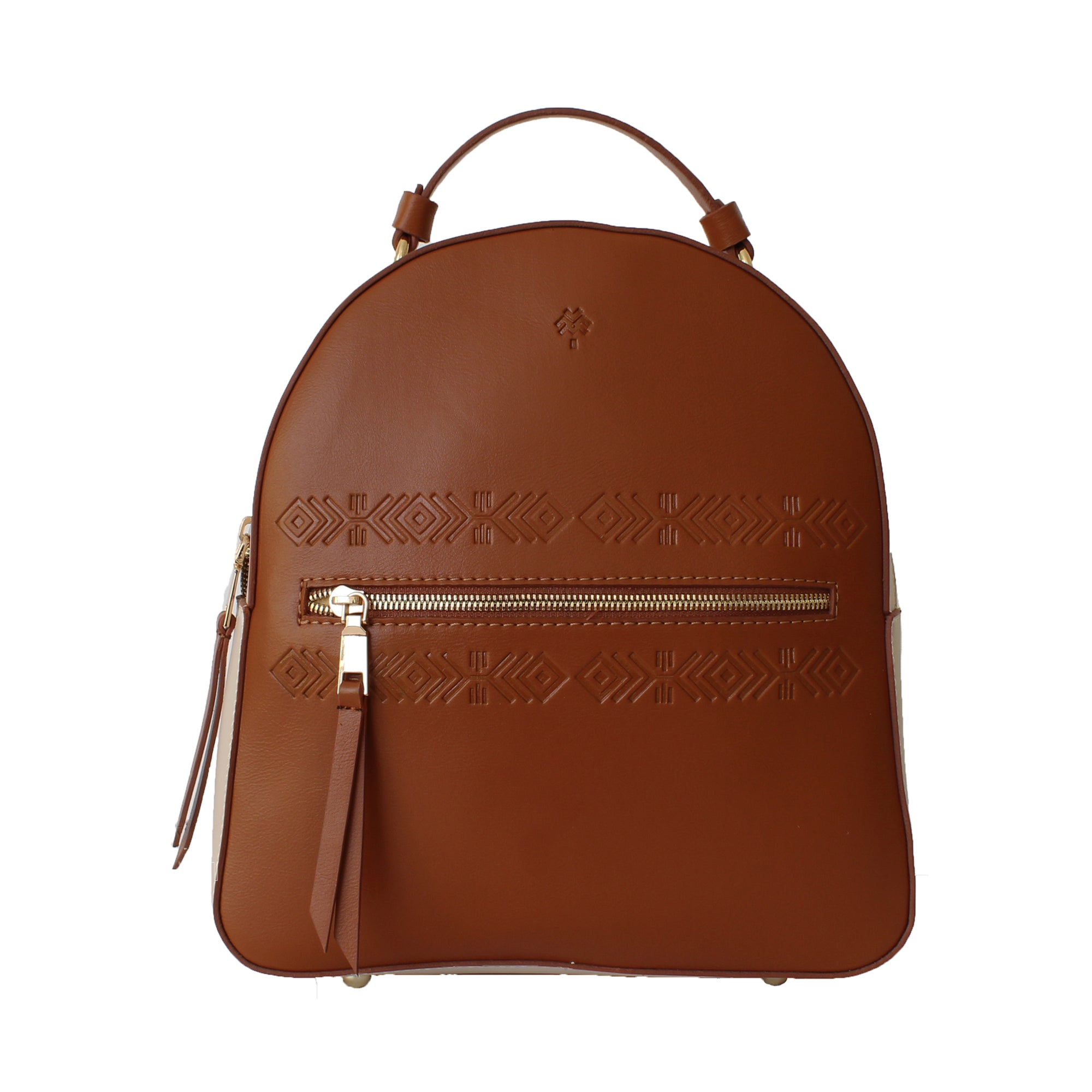 Leather Backpack Tribal