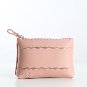 Plain Pink Makeup Bag