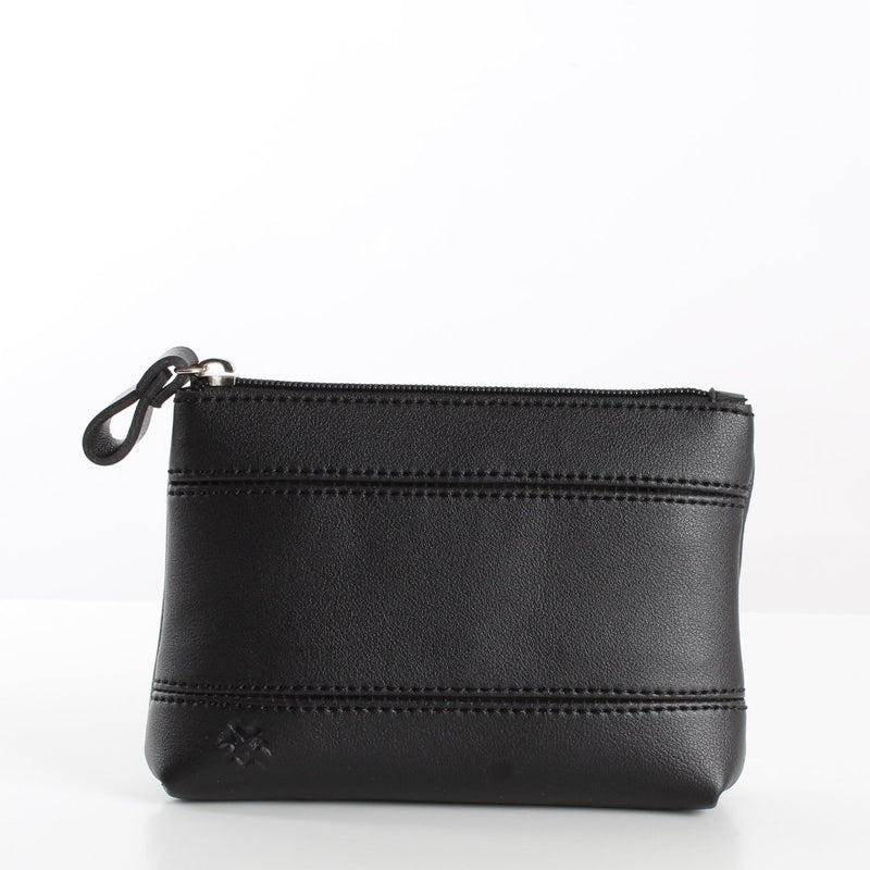 Plain Black Makeup Bag