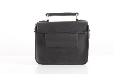 Black SnakeSkin Mini Satchel