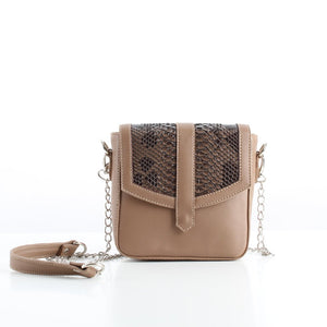Coca SnakeSkin Mini CrossBag