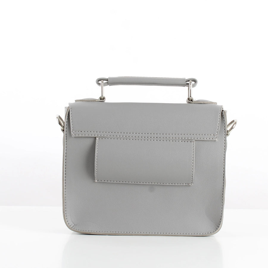 Grey Mini Satchel