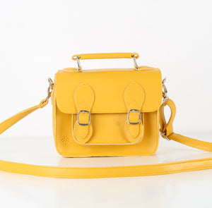 Mustard Mini Satchel