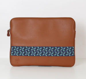 Havane x Blue Flower Laptop Sleeve