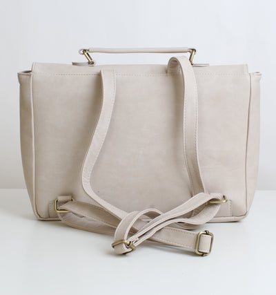 Beige Original Laptop Backpack