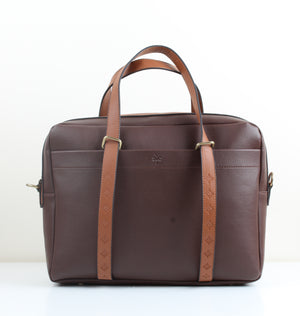 Brown Leather Workbag