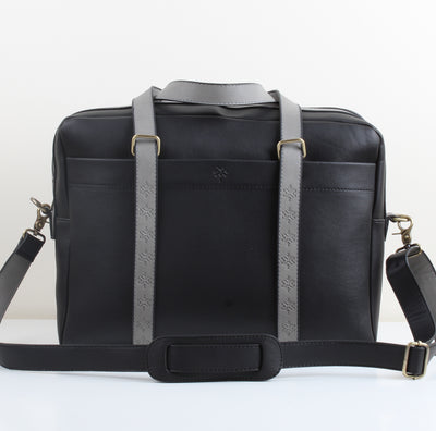 Black Leather Workbag
