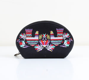 Nordic Bird x Black Makeup bag