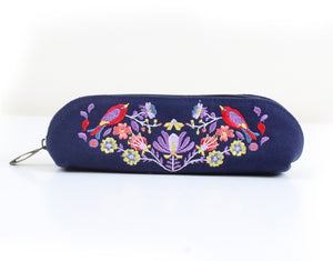 Navy Blue Pencil Case