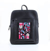 African x Black Curvy Laptop bag