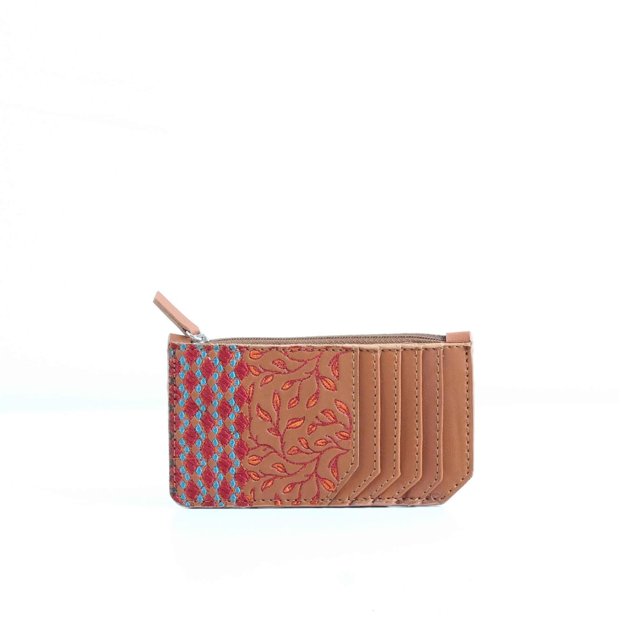 Havane Embroidery Card Holder