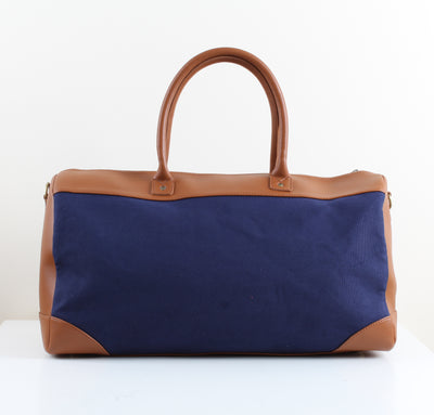 Duffle Bag Havane x Navy blue