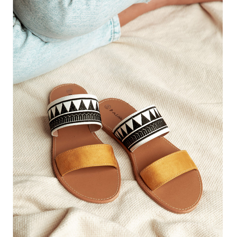 Sandals Abstract