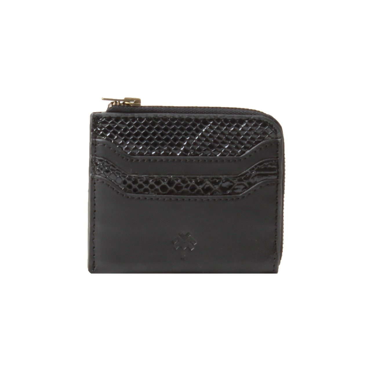 Rattlesnake Card Holder Black