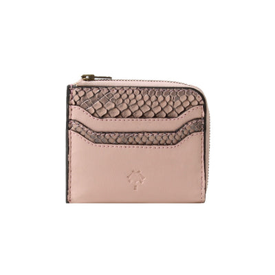 Rattlesnake Card Holder Pink