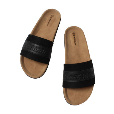 Slippers Clan Black