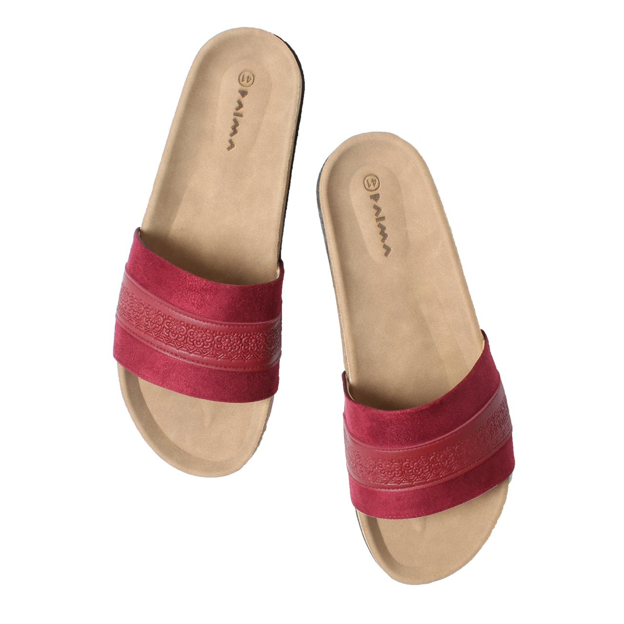 Slippers Marigold Burgundy