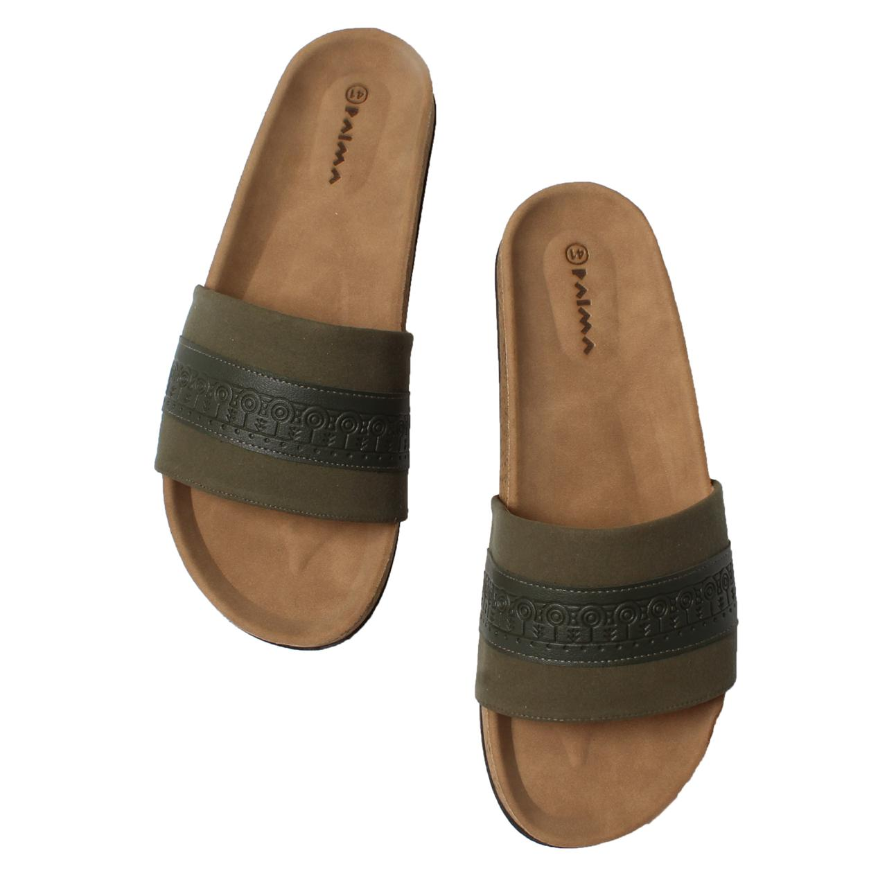 Slippers Clan Olive