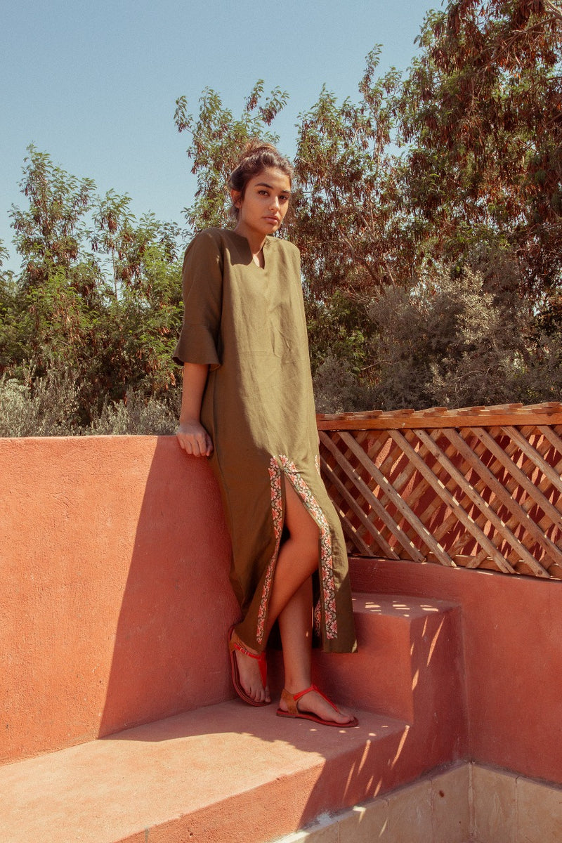 Fayoum Dress Olive