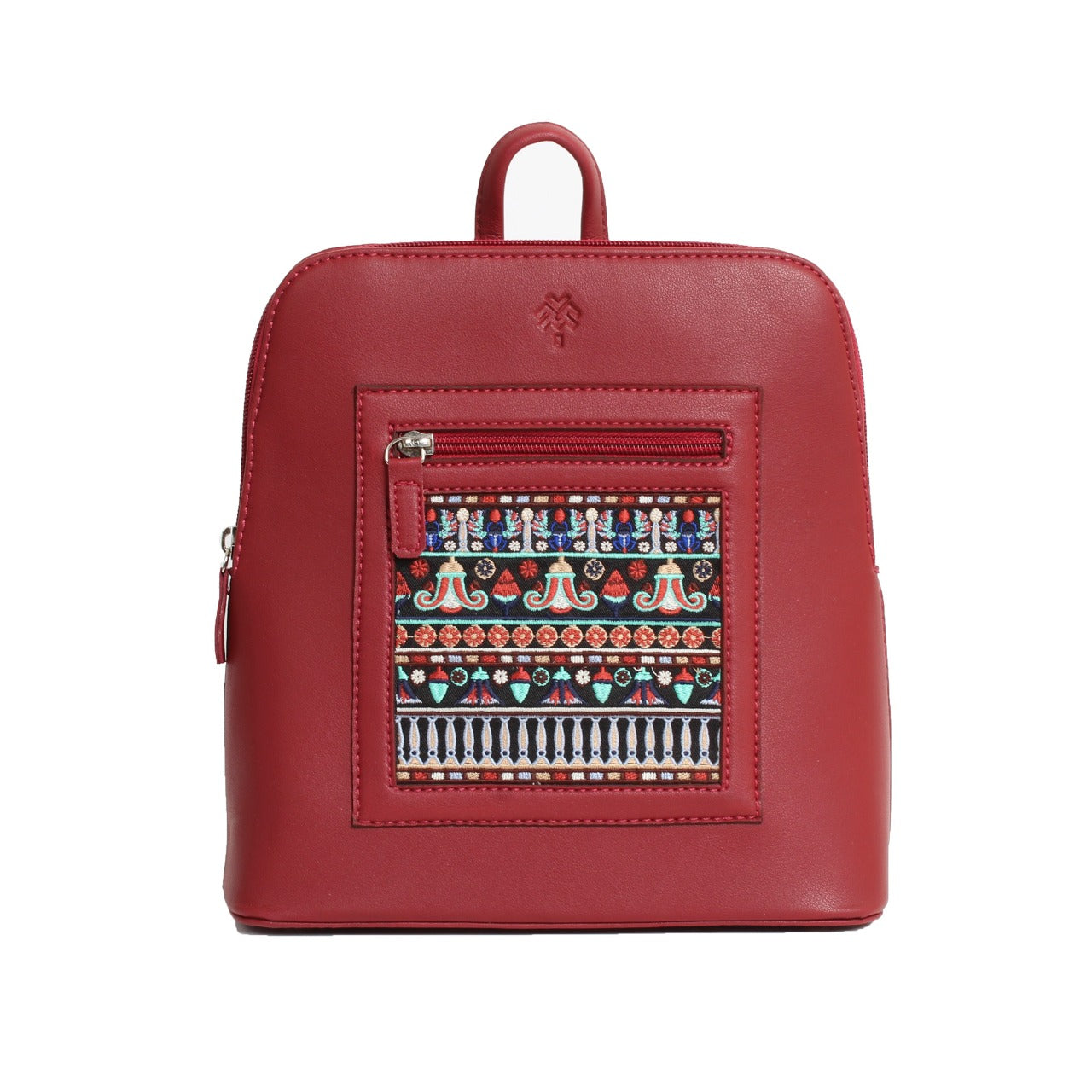 Pharaonic Backpack Papyrus Maroon