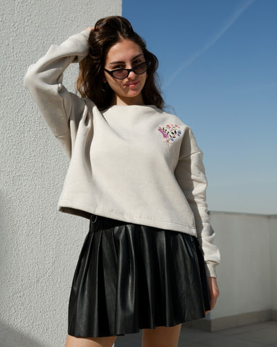 Sweatshirt Lavender Cafe