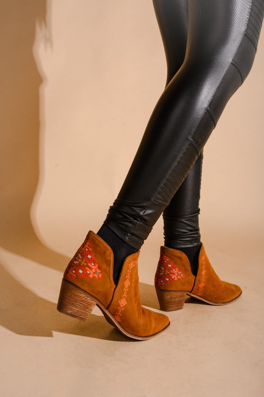 Ankle Boots Touby Havane