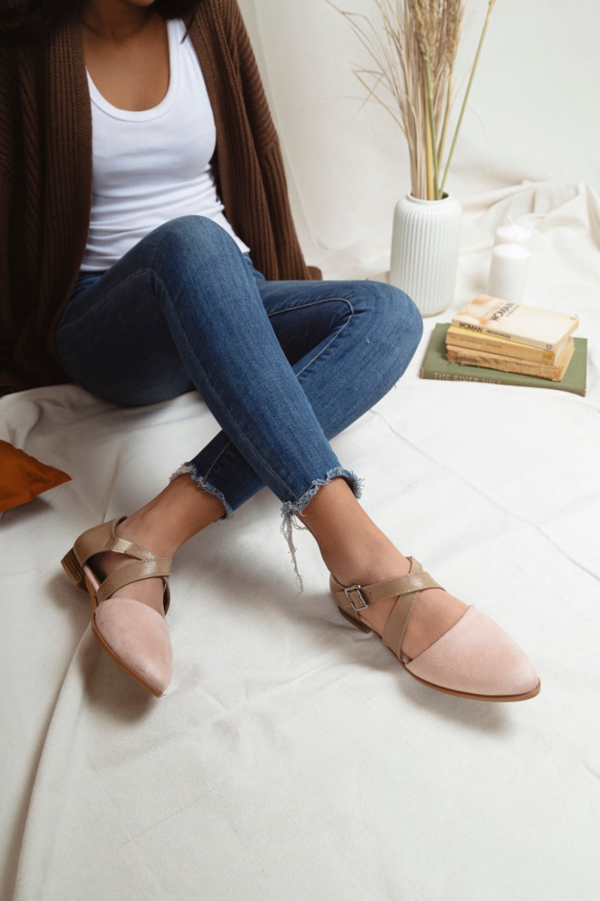 Cross Loafers Rose