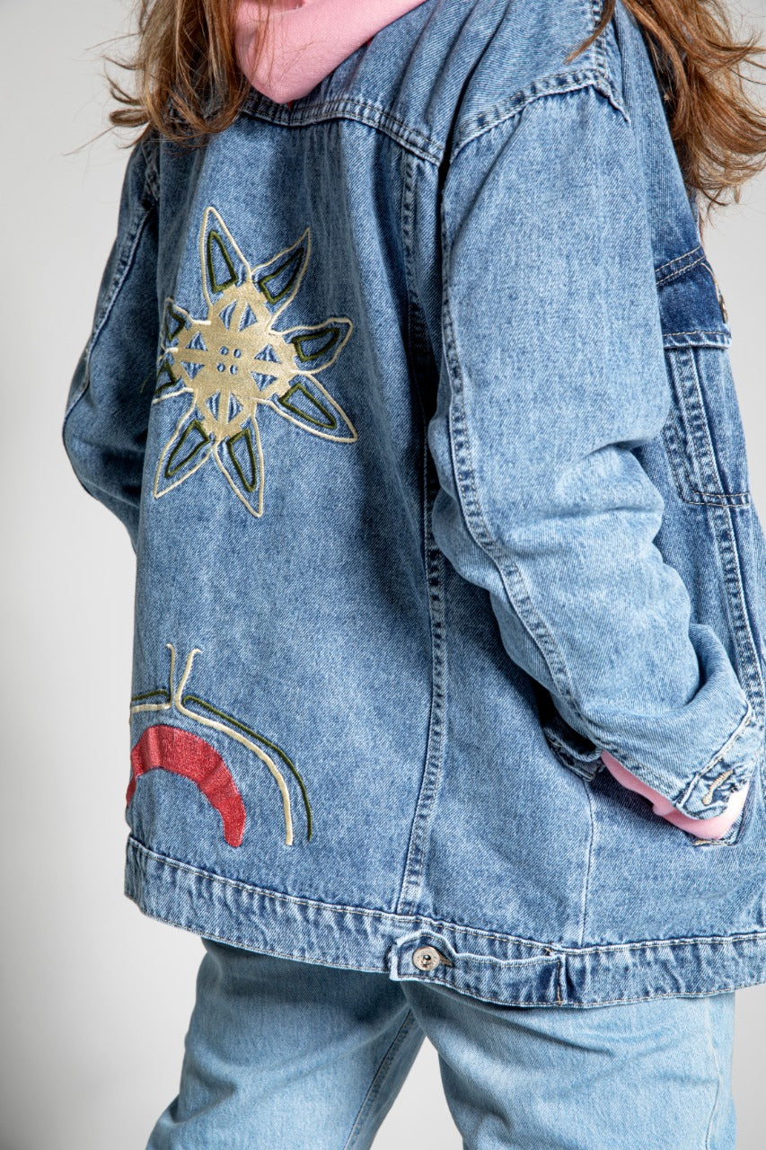 Denim Jacket Night & Day Light Blue