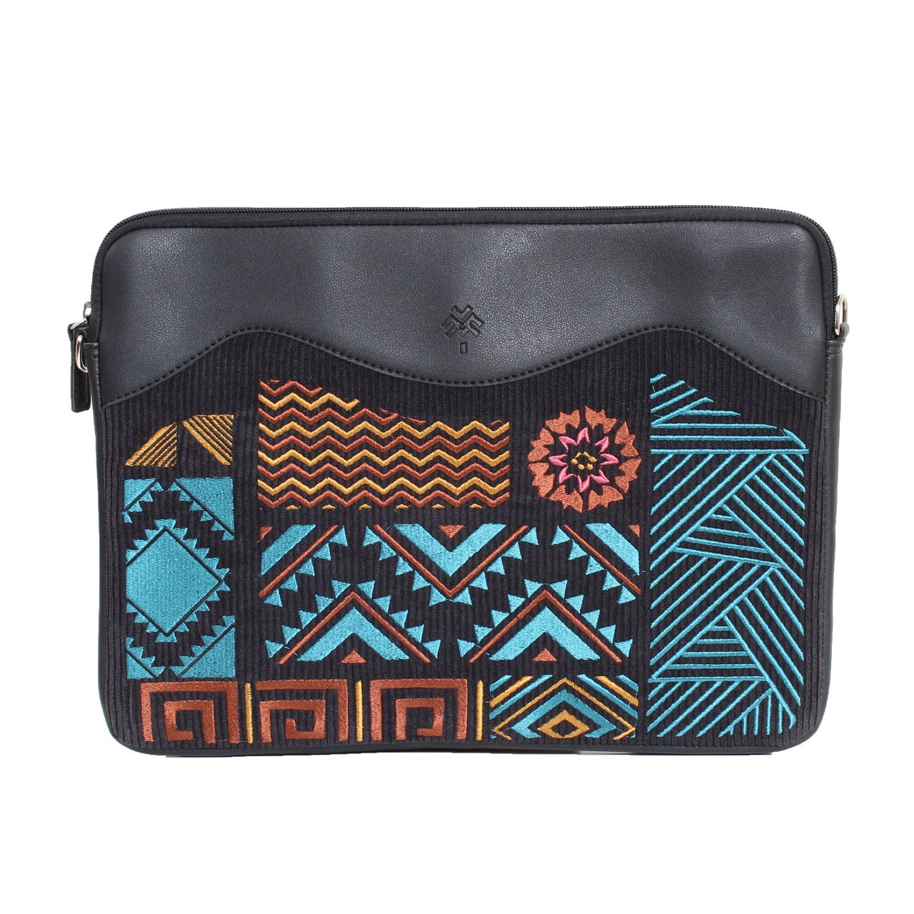 Geometric Laptop Sleeve Black