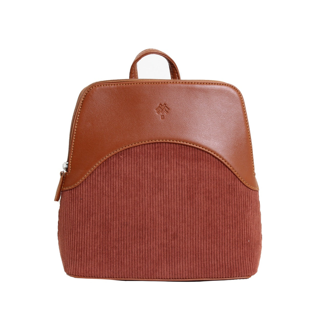 Corduroy Backpack Havane