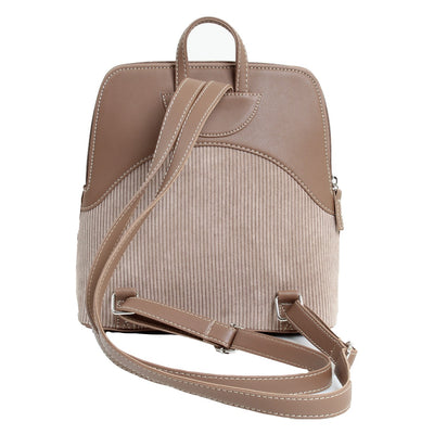 Corduroy Backpack Cafe
