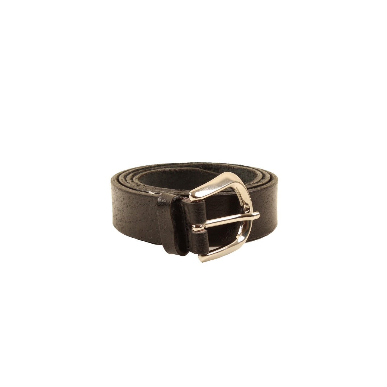 Floral Embossed Belt Black