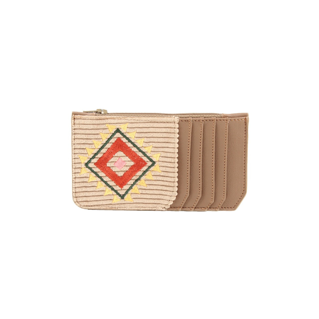 Navajo Card Holder Beige