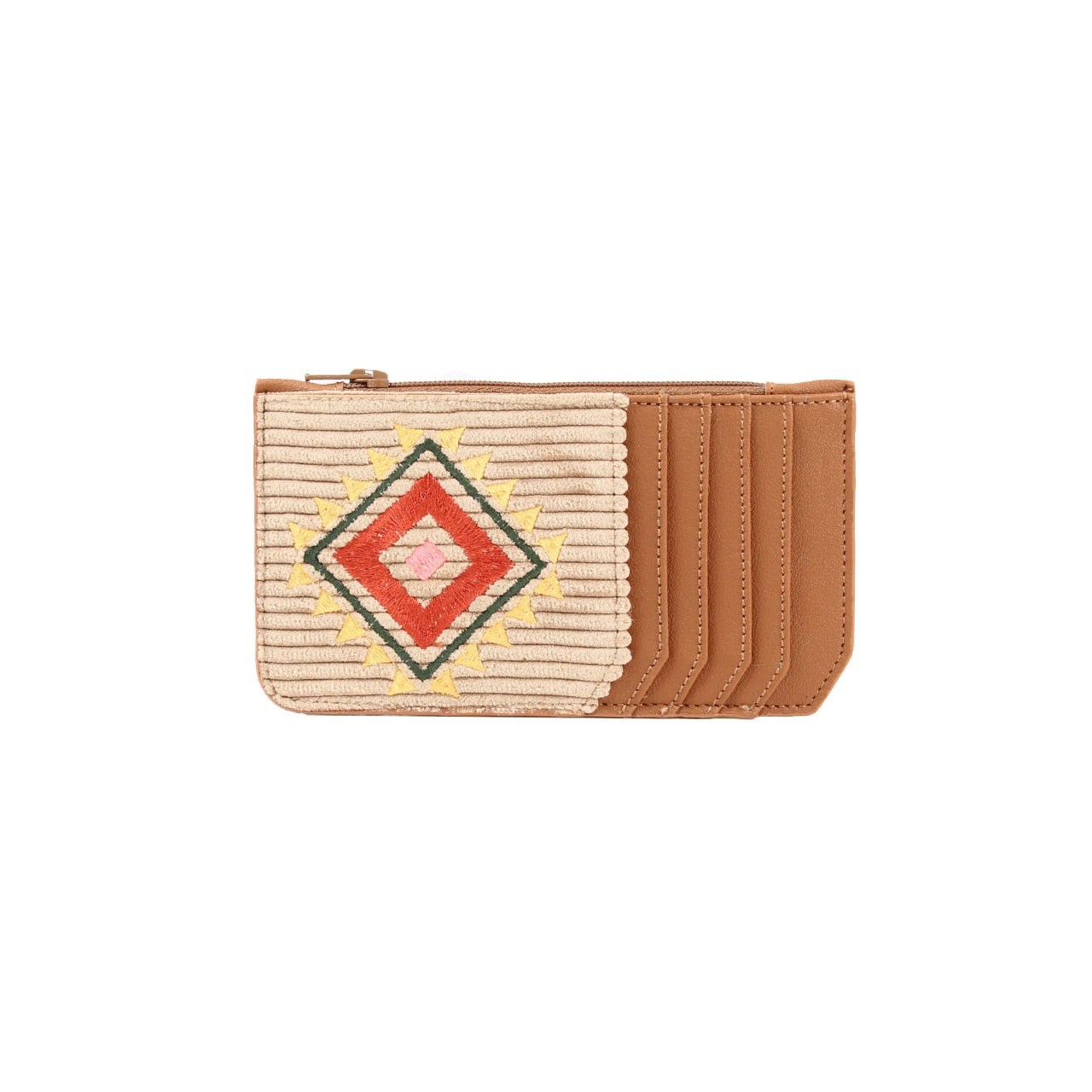 Navajo Card Holder Camel