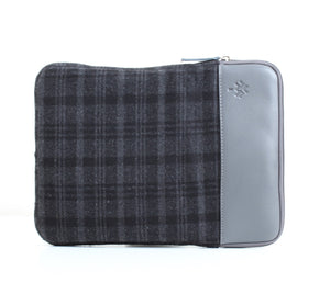 Black Caro x Grey Colour Block Laptop Sleeve