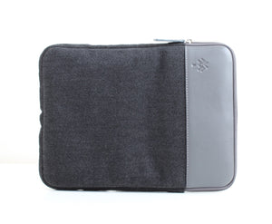 Dark x Grey Colour Block Laptop Sleeve