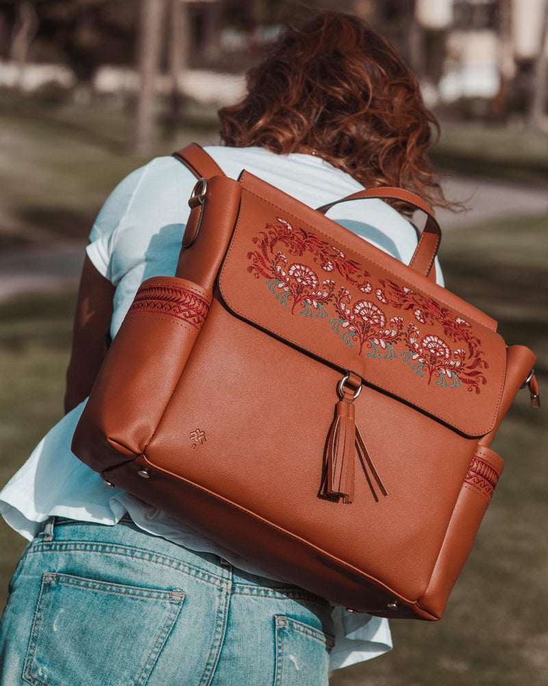 Diaper Bag Mahogany