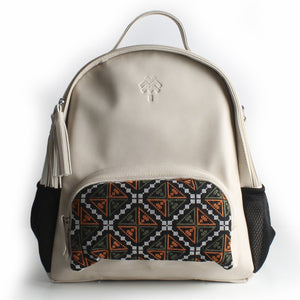 Beige Diaper Bag