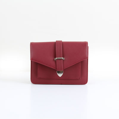Burgundy Town Cross-Bag