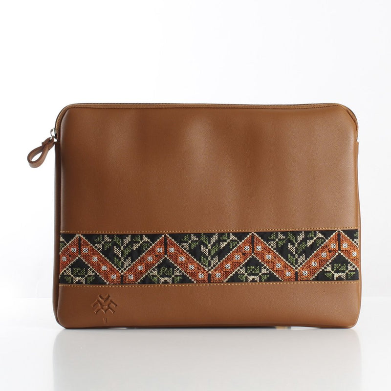 Havane X OrangeGreen Laptop Sleeve