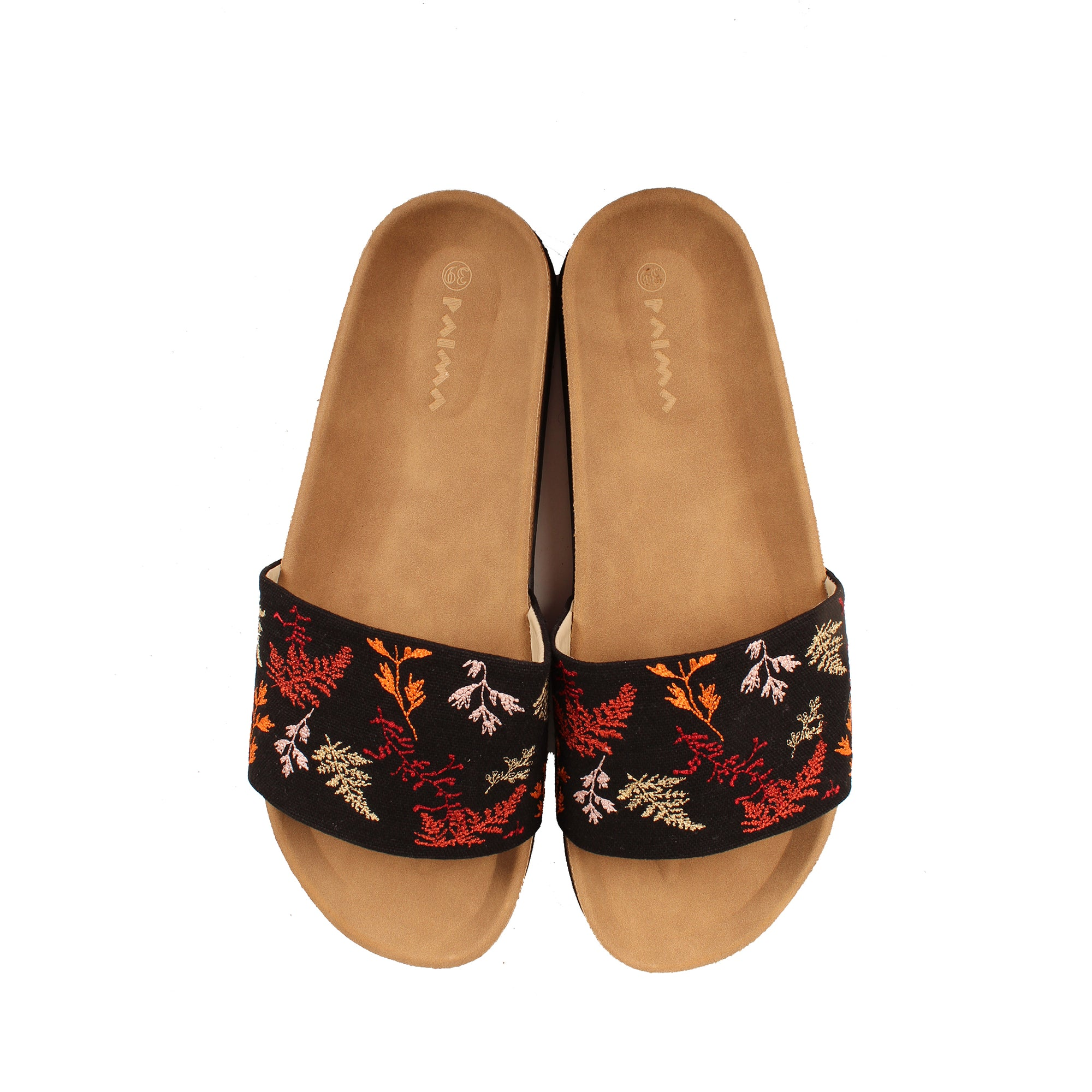 Autumn Leaves Slides Navy