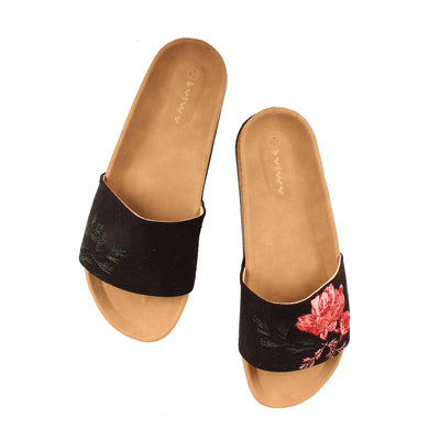 Botanical Slides Navy