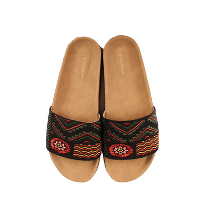 Marigold Slides Black