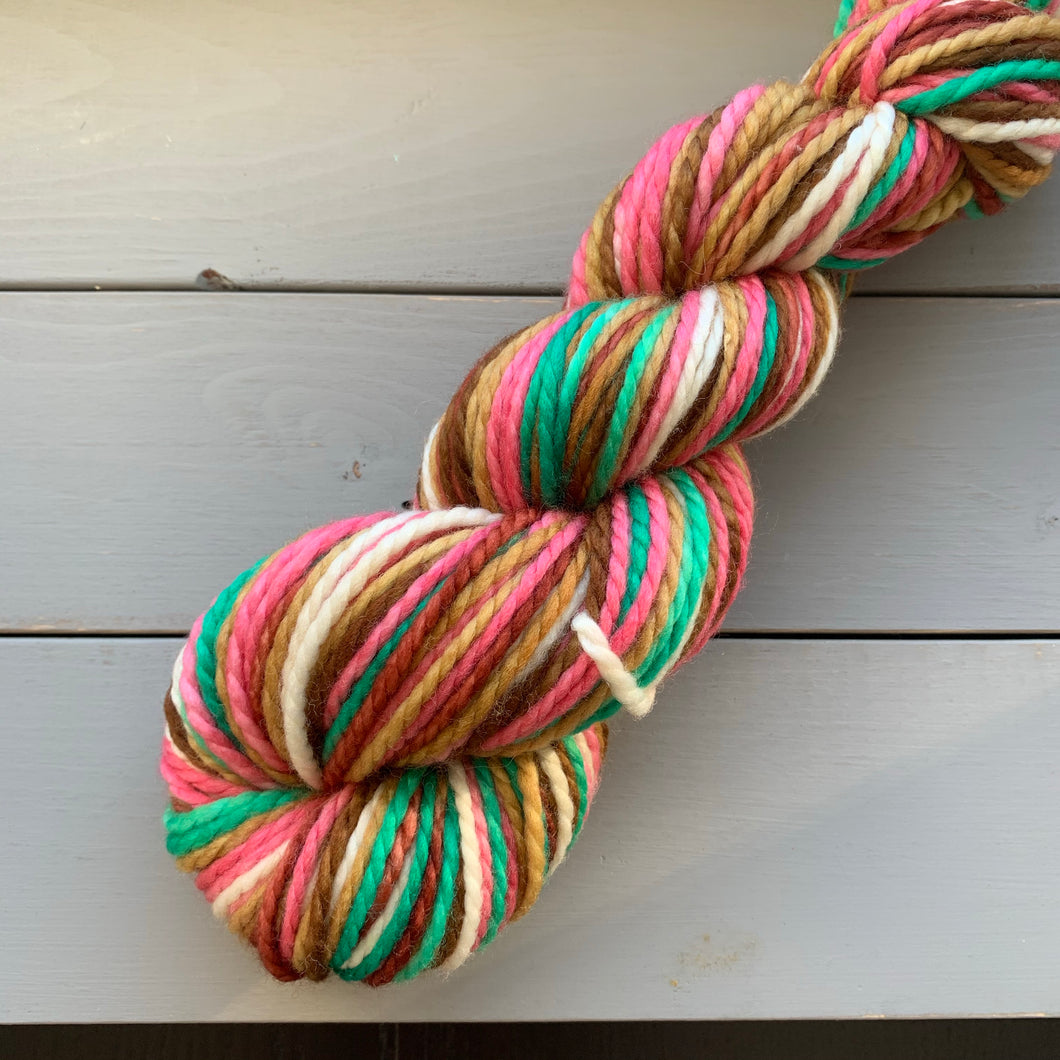 Oh What Fun! - Self Striping Merino Nylon Bulky