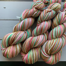 Load image into Gallery viewer, Oh What Fun! - Self Striping Merino Nylon Sock