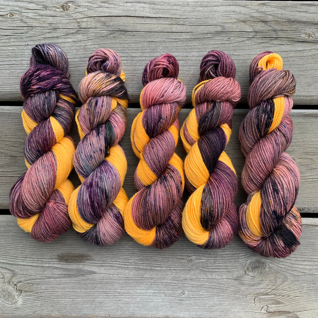 Dusk Sock Set - Merino Nylon Sock