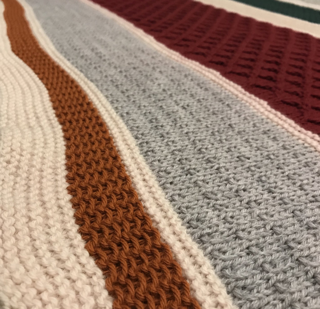 Textured Memories Blanket