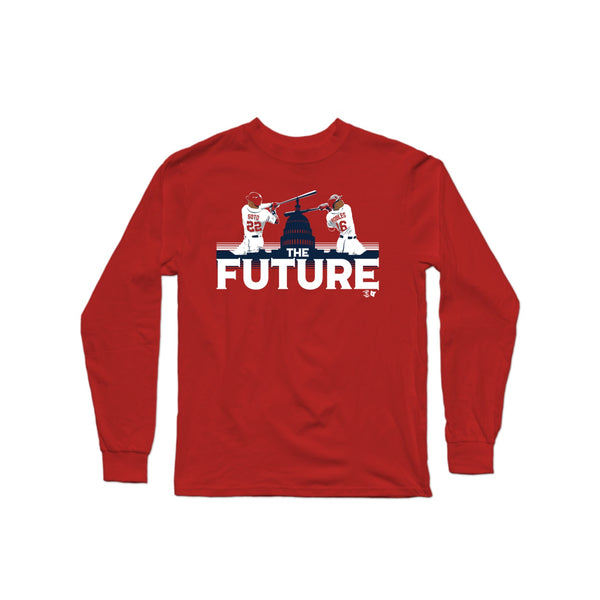 The Future Long Sleeve T-Shirt | Long Sleeve T-Shirt | Bleacher Report Shop