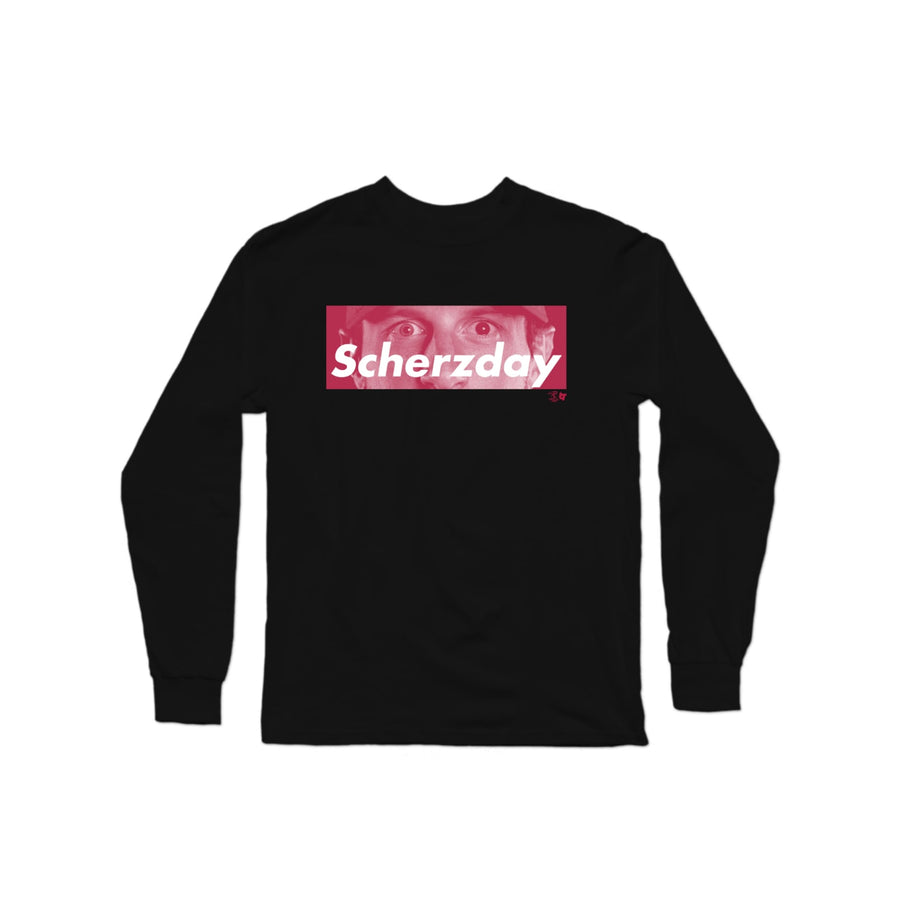 Scherzday Long Sleeve T-Shirt | Long Sleeve T-Shirt | Bleacher Report Shop